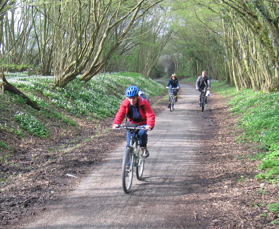 Cycling the Cuckoo Trail