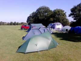 Camping at Napton on the Hill
