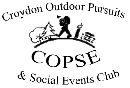 Croydon Outdoor Pursuits and Social Events Club
